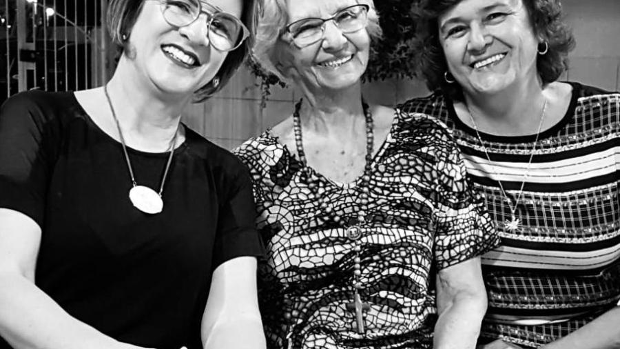 Nélia Lino, Inah Torres e Norma Aquino